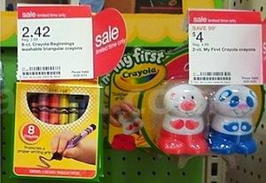 Target My First Crayola Coupons Deals