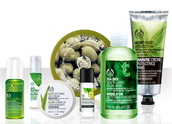 Discount coupons for the body shop