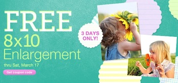 Walgreens Photo FREE 8x10 Enlargement