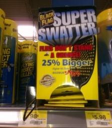 Black Flag Swatter