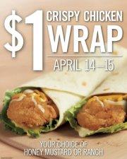 Burger King Crispy Chicken Wrap