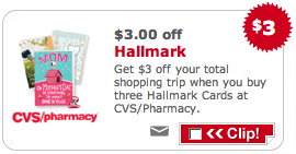 CVS Hallmark Cards Coupon