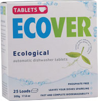 Ecover Dishwashing Tablets $2.02 Each Shipped