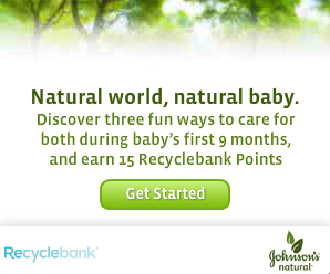 Johnson Naturals Learn Earn Recyclebank