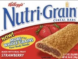 Kelloggs Nutri Grain Bars
