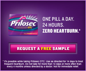 Prilosec OTC FREE Sample