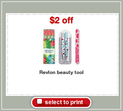 Revlon Beauty Tool Target Coupon