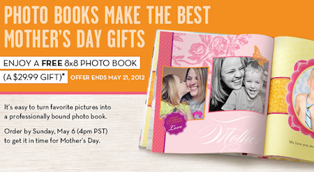 Shutterfly FREE Photo Book