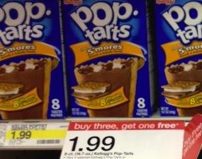 Target Pop Tarts Deal