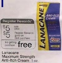 Walgreens Lanacane Deal