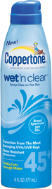 Coppertone Wet Clear