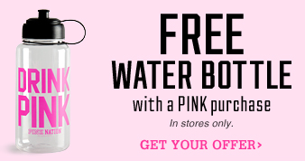 FREE Pink Water Bottle
