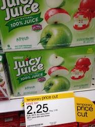 Juicy Juice Target Deal