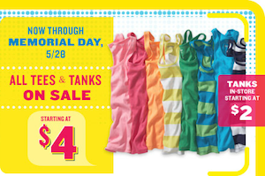 Old Navy: Tanks As Low As $2