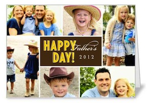 Shutterfly Fathers Day Card