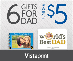 Vistaprint Fathers Day Deals
