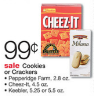Walgreens Keebler Crackers Deal