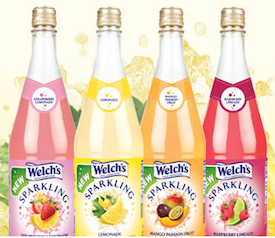 Welchs Sparkling Juice Cocktail