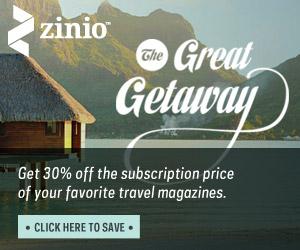 Zinio Travel Deals