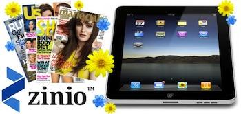 Zinio iPad Giveaway