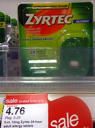 Zyrtec Deal at Target