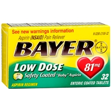 Bayer Aspirin Low Dose