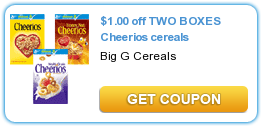 Cheerios Cereal Coupon