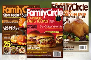 Family Circle Magazine Subscription