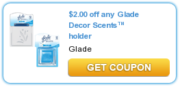 Glade Decor Scents Coupon