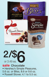 Hersheys Simple Pleasures Chocolate Walgreens Deal