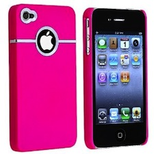 Hot Pink iPhone 4 4S Case