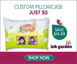 InkGarden Custom Pillow Case