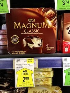 Magnum Ice Cream Sale