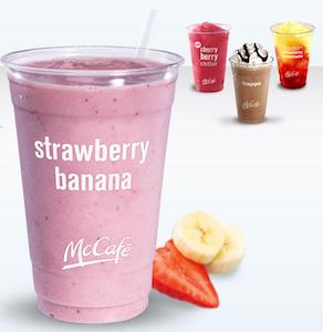 McDonalds McCafe Beverages Coupon