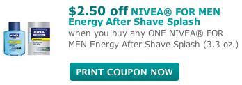 Nivea for Men Coupon