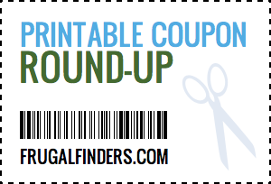 Printable Coupon Round-Up