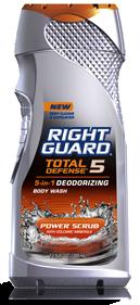 Right Guard Total Defense 5 Body Wash