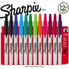 Sharpie Markers Retractable