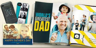 Shutterfly Fathers Day Products