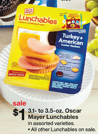 Target Lunchables Deal