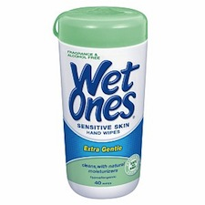Wet Ones Sensitive
