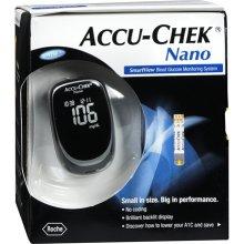 Accu Chek Nano Blood Glucose Monitor