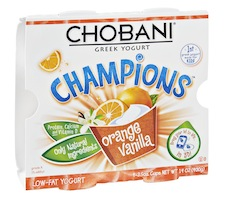 Chobani Champions Greek Yogurt