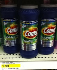 Comet Stainless Steel FREE at Target