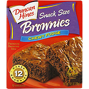 Duncan Hines Snack Size Brownies