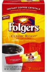 Folgers Instant Coffee Sticks