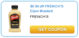 Frenchs Dijon Mustard Coupon