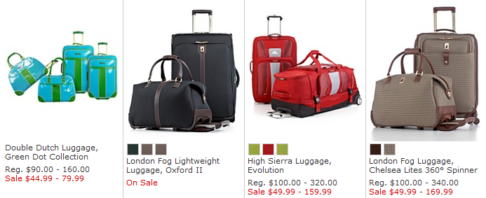 Macys One Day Sale: Luggage at Deep Discounts ends 7/14