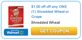 Shredded Wheat Cereal Coupon