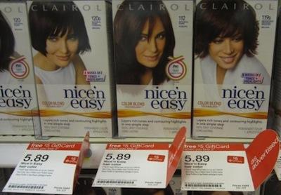 Target Clairol Nice n Easy Moneymaker